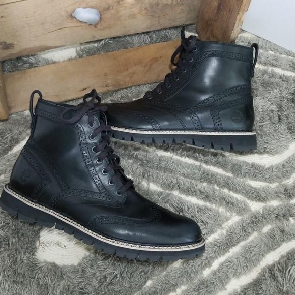 25285376b7a7 Timberland Britton Hill wingtip boots Size 12. M 5b1e93e334a4efce6f407472